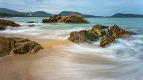 Day time seascape Royalty Free Stock Images