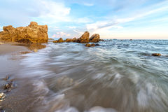 Day time seascape Stock Photography