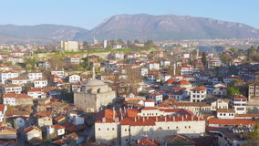 Day Timelapse, Traditional Ottoman Anatolian Village, Safranbolu, Turkey, zoom out stock footage