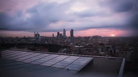 Day to Night Time-Lapse / Istanbul - Turkey. Day to Night Time-Lapse stock video footage