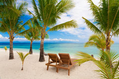 Day tropical sea Stock Images