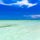 Day tropical sea Stock Photography