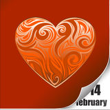 Day valentine background Royalty Free Stock Photos