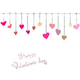 Day valentine background Stock Images