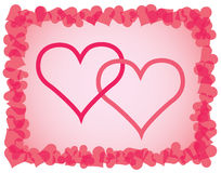 Day of Valentine background Royalty Free Stock Photos