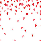 Day; valentines; valentine; love; background; happy; vector; card; design; heart; illustration; red; decoration; romantic; beautif. Vector watercolor artistic Stock Images