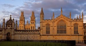 Day view of All Souls College at Oxford Royalty Free Stock Images