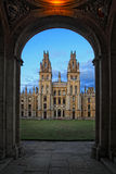 Day view of All Souls College at Oxford Stock Images