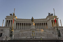 Day view of the Altar of the Fatherland Royalty Free Stock Photos