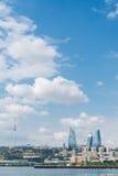 The day view of baku azerbaijan architecture Stock Photos