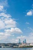 The day view of baku azerbaijan architecture Stock Photo