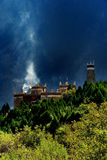Day view of the castle at Danba Sichuan China. Day view of the castle at Danba Sichuan province China stock photo