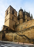 Day view of  Cathedral of Plasencia Royalty Free Stock Image
