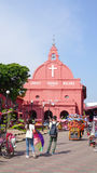 Day view of Christ Church in Malacca Royalty Free Stock Photography