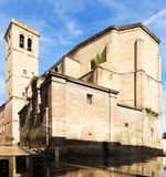 Day view of Church of Santiago el Real in Logrono Stock Images