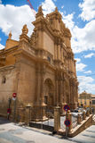 Day view of  Colegiata Church of San Patricio. Lorca Stock Photography