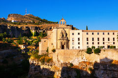 Day view of convent of Saint Paul. Cuenca Stock Images