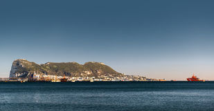 Day view of Gibraltar Stock Image