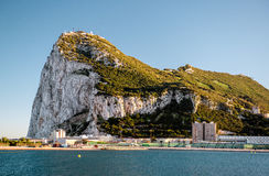 Day view of Gibraltar Royalty Free Stock Photo