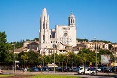 Day view of Girona, Spain Stock Photo