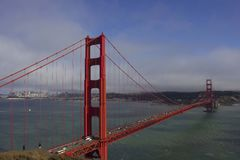 Day view of Golden Gate Bridge Stock Images