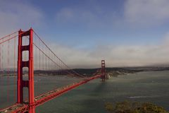 Day view of Golden Gate Bridge Royalty Free Stock Photography