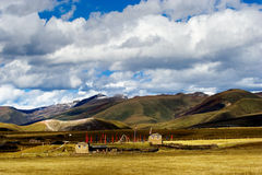 Day view of highland in Yala of Sichuan China. Day view of highland in Yala of Sichuan Province, China stock photography