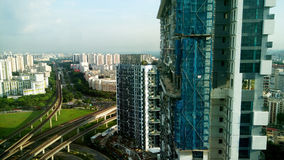 Day view of Jurong Gateway condo under construction Stock Image
