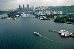 Day view of Keppel Bay Stock Photo
