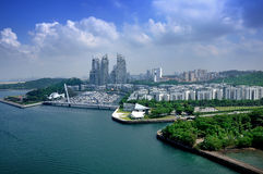 Day view of Keppel Bay Royalty Free Stock Photography