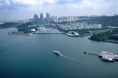 Day view of Keppel Bay Stock Image