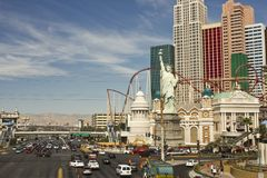Day view of Las Vegas Strip Royalty Free Stock Photo