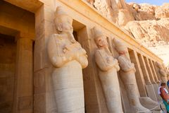 Temple of Luxor - Egypt. Day view of Luxor Temple Luxor, Egypt royalty free stock photo