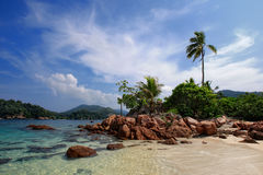 Day view of Marine Park Redang Island. Malaysia royalty free stock photography