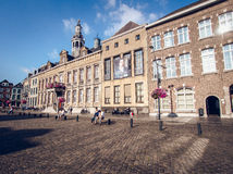 Day view of market square. Roermond. Netherlands Royalty Free Stock Photos