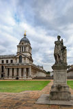 Day view of National Maritime Museum. The National Maritime Museum in Greenwich, England is the leading maritime museum of the United Kingdom and may be the royalty free stock photo