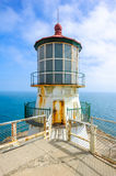 Day View On Point Bonita Lighthouse And Skyline Stock Photography