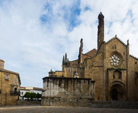 Day view of Plasencia Cathedral Royalty Free Stock Photos