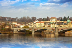 Day view of Prague Royalty Free Stock Photo