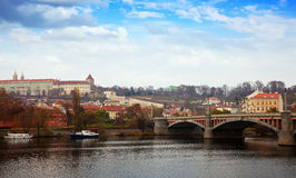 Day view of Prague Stock Photography