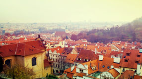Day view of Prague Royalty Free Stock Image