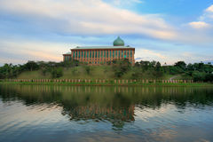 Day view of Putrajaya Lake, Malaysia. Day view of Putrajaya Lake in Malaysia stock photo