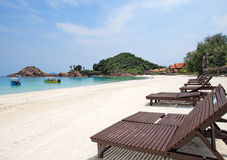 Day view of Redang Island. Malaysia royalty free stock image
