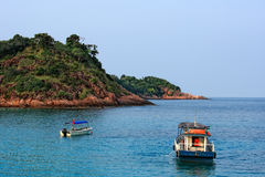 Day view of Redang Island. Malaysia royalty free stock photos