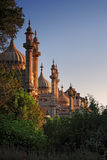Day view of Royal Pavilion in Brighton. England stock image