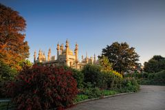 Day view of Royal Pavilion in Brighton Stock Images