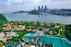 Day view of Sentosa island Royalty Free Stock Photography