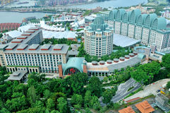 Day view of Sentosa island Stock Images