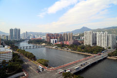 Day view of Shing Mun River Stock Photography