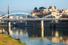 Day view of   Tortosa, Spain Royalty Free Stock Photography